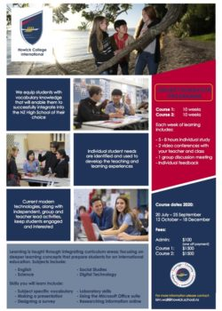 Howick College Online Course
